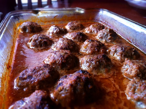 Spicy Chili Meatballs